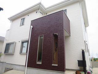 東海市S様 外壁屋根塗り替え工事 施工後 全景写真