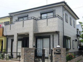 岩倉市K様 外壁塗り替え工事 施工後 全景写真