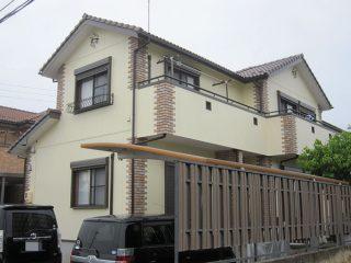 春日井市K様 外壁塗り替え工事 施工後 全景写真