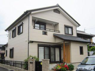 春日井市T様 外壁塗り替え工事 施工後 全景写真