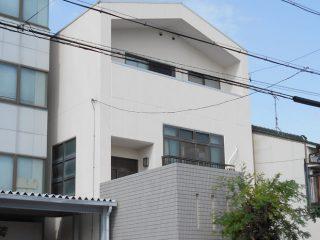 名古屋市O様 外壁屋根塗り替え工事 施工後 全景写真