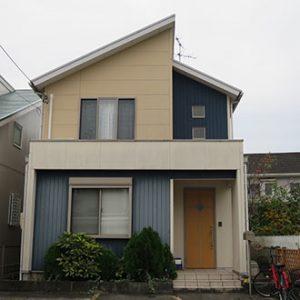 春日井市S様 外壁屋根塗装工事 施工前 外観画像