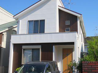 春日井市S様 外壁屋根塗り替え工事 施工後 全景写真