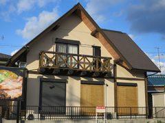 岡崎市H様 外壁屋根塗装工事 施工前 外観画像