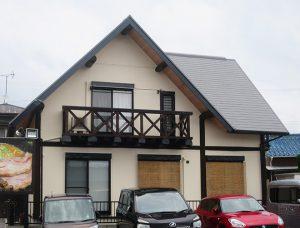 岡崎市H様 外壁屋根塗り替え工事 施工後 全景写真