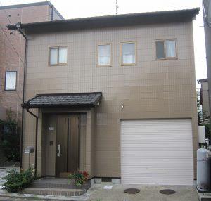 江南市Y様 外壁屋根塗り替え工事 施工後 全景写真