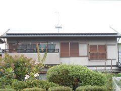 春日井市K様 外壁屋根塗装工事 施工前 外観画像