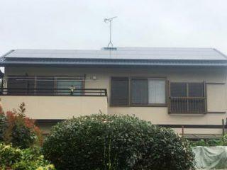 春日井市K様 外壁屋根塗り替え工事 施工後 全景写真