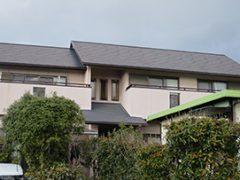 瀬戸市K様 外壁塗装工事 施工前 外観画像