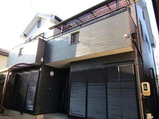 春日井市N様 外壁屋根塗り替え工事 施工後 全景写真