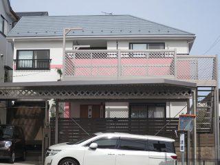 瀬戸市K様 外壁屋根塗り替え工事 施工後 全景写真