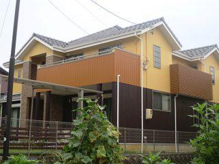 豊田市S様 外壁塗り替え工事 施工後 全景写真