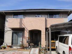 豊田市H様 外壁屋根塗装工事 施工前 外観画像