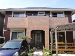 豊田市H様 外壁屋根塗り替え工事 施工後 全景写真