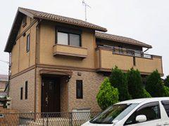 名古屋市Y様 外壁塗装工事 施工前 外観画像