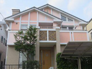 名古屋市T様 外壁屋根塗り替え工事 施工後 全景写真