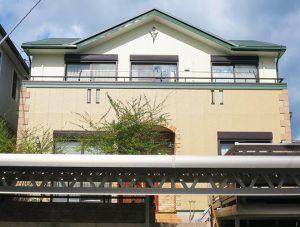 春日井市T様 外壁塗装工事 施工後 外観画像