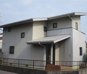 春日井市T様 外壁屋根塗り替え工事 施工前 全景画像