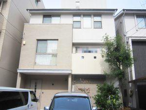 名古屋市O様邸外壁屋根塗装工事 施工後 外観画像