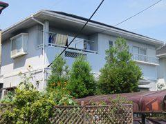 桑名市S様 外壁屋根塗り替え工事 施工前 全景画像