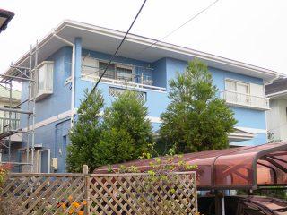 桑名市S様 外壁屋根塗り替え工事 施工後 全景写真