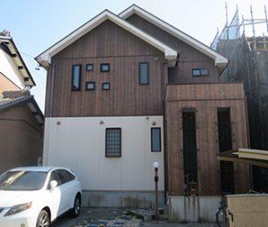 春日井市O様 外壁塗り替え工事 施工前 全景画像