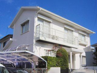 春日井市H様 外壁屋根塗り替え工事 施工後 全景写真