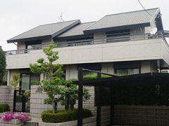 名古屋市N様 外壁屋根塗装工事 施工前 外観画像