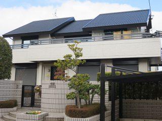 名古屋市N様 外壁屋根塗り替え工事 施工後 全景写真