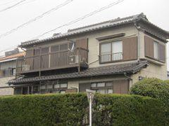 春日井市I様 外壁塗装工事 施工前 外観画像