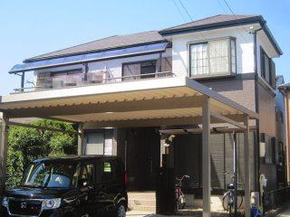 春日井市I様 外壁屋根塗り替え工事 施工後 全景写真