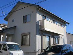 豊田市T様 外壁屋根塗装工事 施工前 外観画像
