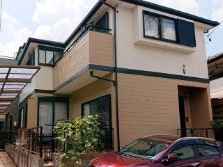 春日井市M様 外壁屋根塗り替え工事 施工後 全景写真