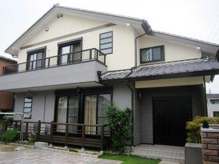 春日井市M様 外壁塗り替え工事 施工後 全景写真