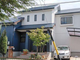 春日井市T様 外壁屋根塗り替え工事 施工後 全景写真