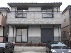 名古屋市G様 外壁塗装工事 施工前 全景画像