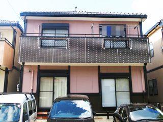 名古屋市G様 外壁塗り替え工事 施工後 全景画像