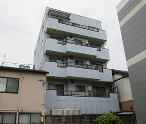 名古屋市H様 外壁塗り替え工事 施工前 全景画像
