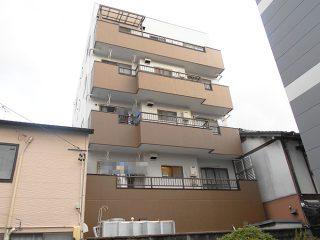 名古屋市H様 外壁塗替工事 施工後 外観画像