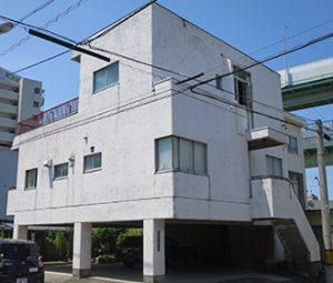 名古屋市T様外壁塗り替え工事 施工前 全景画像