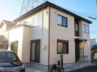 春日井市S様 外壁屋根塗装工事 施工後 外観画像