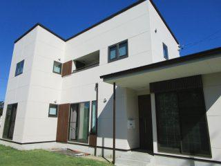 春日井市Y様 外壁塗り替え工事 施工後 外観画像