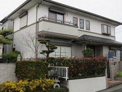 春日井市K様 外壁屋根塗り替え工事 施工前 全景画像
