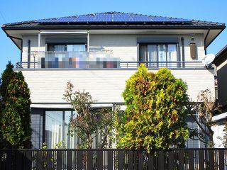 春日井市D様 外壁屋根塗装工事 施工後 外観画像