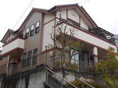 春日井市F様 外壁塗り替え工事 施工前 全景画像