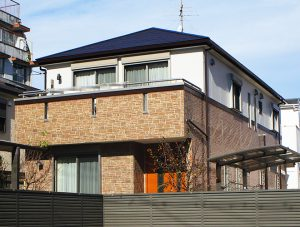 名古屋市S様 外壁屋根塗装工事 施工後 外観画像