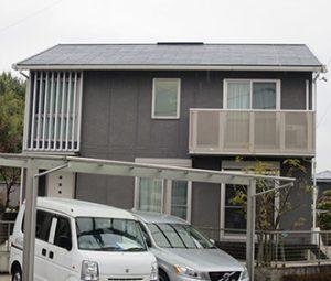 瀬戸市I様 外壁屋根塗り替え工事 施工前 全景画像
