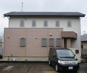 春日井市N様 外壁塗り替え工事 施工前 全景画像