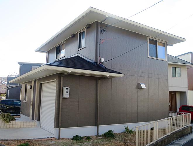 長久手市I様 外壁屋根塗装工事 施工後 外観画像