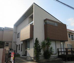 春日井市N様 外壁屋根塗り替え工事 施工前 全景画像